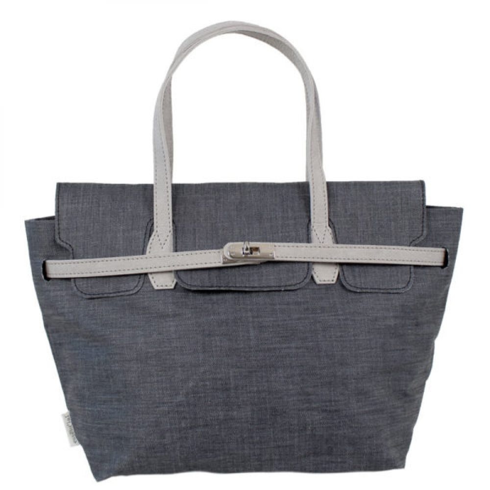 BORSA A MANO SOFT DENIM MODELLO B40 ESSENTIAL